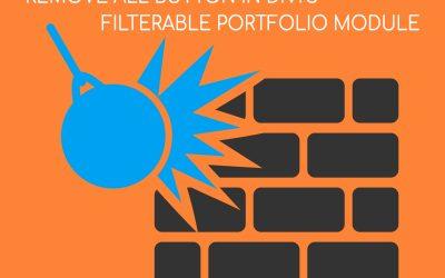 Divi Filterable Portfolio Remove All Button - Divi Plugins