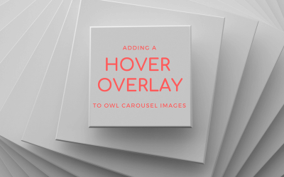Adding a Hover Overlay to Owl Carousel Images