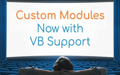 Partial Visual Builder Support Added to Custom Modules