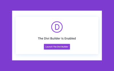 Switching Back to the Divi Backend Builder