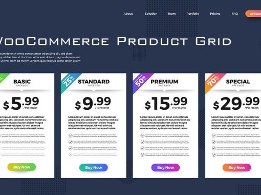 WooCommerce Filterable Grid
